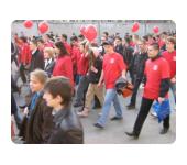 Шествие студентов